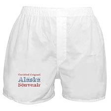 Certified Alaska Souvenir Boxer Shorts