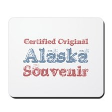 Certified Alaska Souvenir Mousepad