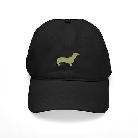 Sage Green Dachshund Black Cap