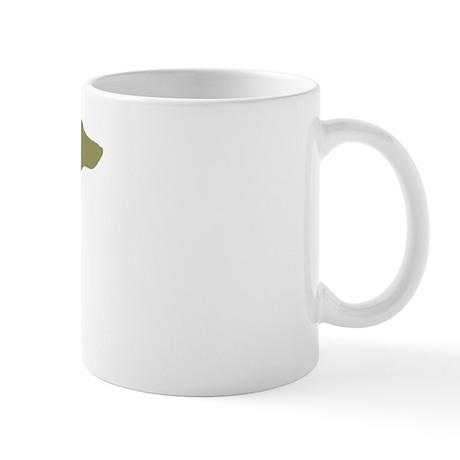 Sage Green Dachshund Mug
