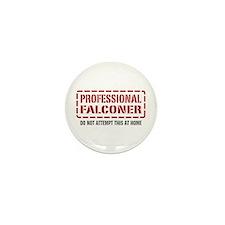 Professional Falconer Mini Button (10 pack)