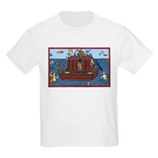 Mermaid & Noah's Ark Kids T-Shirt