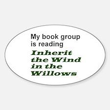 Inherit WHAT? Sticker (Oval)