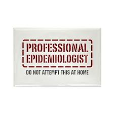 Professional Epidemiologist Rectangle Magnet