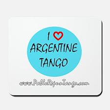 I Love Argentine Tango Mousepad