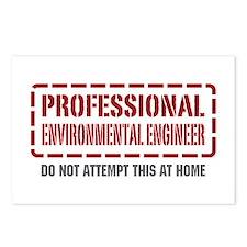 Professional Environmental Engineer Postcards (Pac