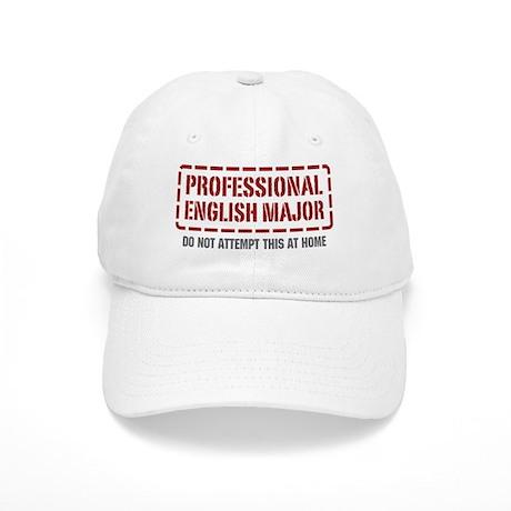 Professional English Major Cap