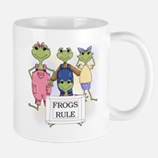 Frogs Rule Mug