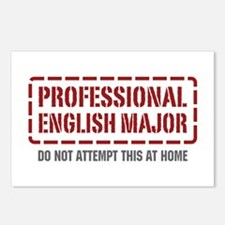 Professional English Major Postcards (Package of 8