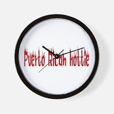 Puerto Rican Hottie Wall Clock