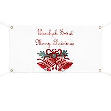 Polish Christmas Banner
