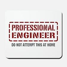 Professional Engineer Mousepad