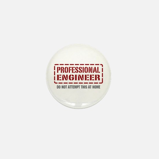 Professional Engineer Mini Button (10 pack)