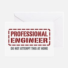 Professional Engineer Greeting Card