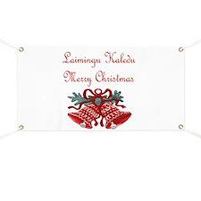 Lithuanian Christmas Banner