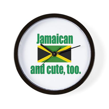 Cute Jamaican Wall Clock
