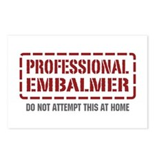 Professional Embalmer Postcards (Package of 8)