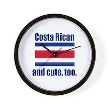 Cute Costa Rican Wall Clock