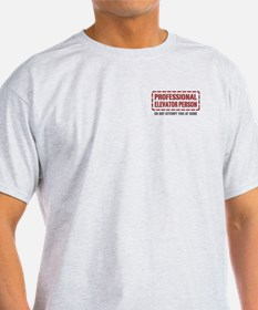 Professional Elevator Person T-Shirt