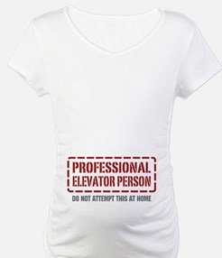 Professional Elevator Person Shirt