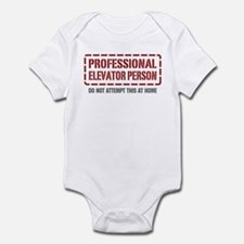 Professional Elevator Person Infant Bodysuit