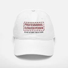 Professional Elevator Person Baseball Baseball Cap