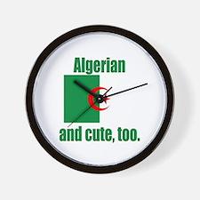 Algerian & Cute Wall Clock