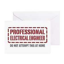 Professional Electrical Engineer Greeting Card
