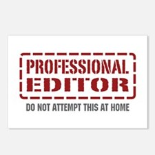 Professional Editor Postcards (Package of 8)