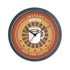 Instant Writer Wall Clock