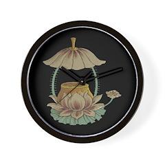 Chinese Blossoms Wall Clock
