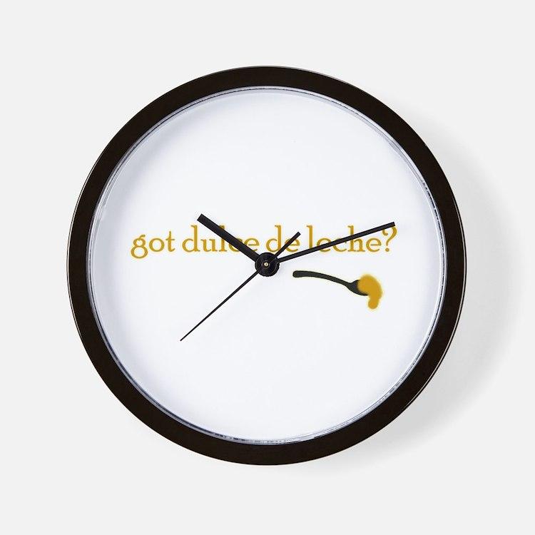 Got Dulce de Leche? Wall Clock