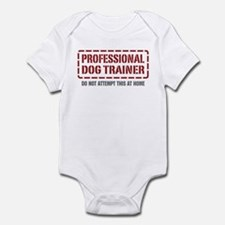 Professional Dog Trainer Infant Bodysuit