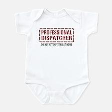 Professional Dispatcher Infant Bodysuit