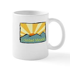 i climbed masada Mug