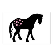 Pink Spots Cute Appy Postcards (Package of 8)