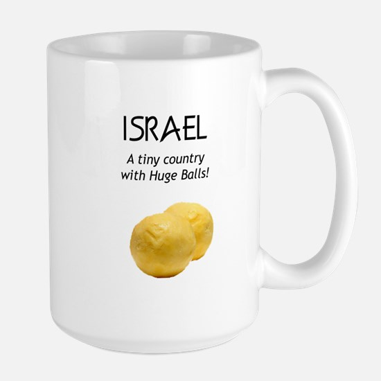 Israel: Huge balls Large Mug