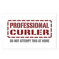 Professional Curler Postcards (Package of 8)