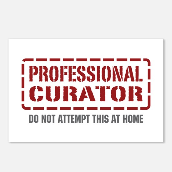 Professional Curator Postcards (Package of 8)