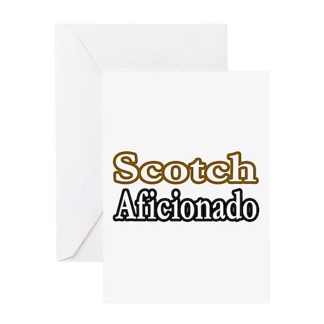 """""""Scotch Aficionado"""" Greeting Card"""