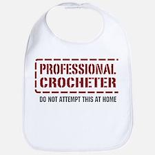 Professional Crocheter Bib