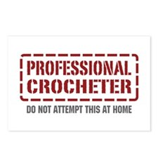 Professional Crocheter Postcards (Package of 8)