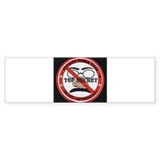 Nitwits Rubes Oafs Bumper Bumper Sticker