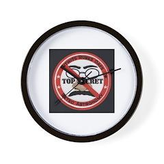 Nitwits Rubes Oafs Wall Clock