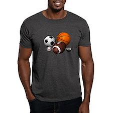 sports balls T-Shirt