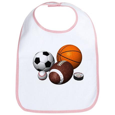 sports balls Bib