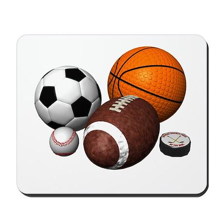 sports balls Mousepad