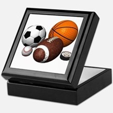 sports balls Keepsake Box