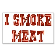 I Smoke Meat Decal