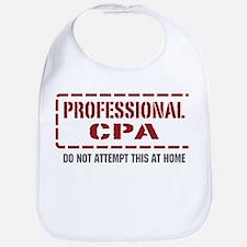 Professional CPA Bib